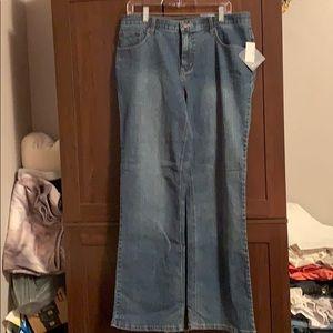 Ladies jeans.